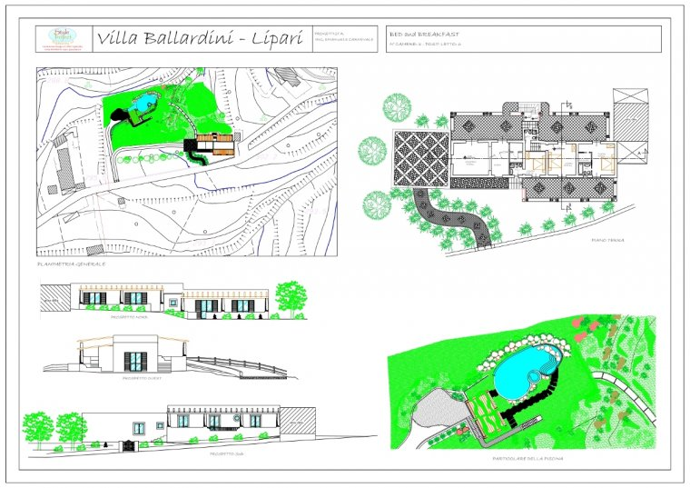 Style Project Engineering - Villa Ballardini Lipari