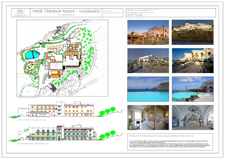 Style Project Engineering - Hotel Therasia Resort Vulcanello