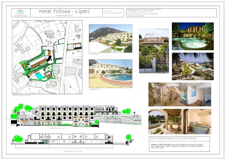 Style Project Engineering - Hotel Tritone Lipari